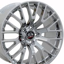 Black Chrome Wheels Mustang Ford 2015 Mustang Gt Style Replica Wheel Pvd Chrome 18x9