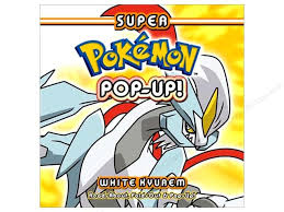 white kyurem pop up white kyurem book createforless