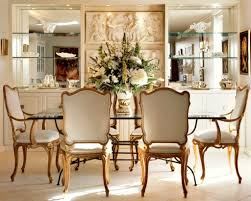 beautiful flower arrangements with classic dining room decor and