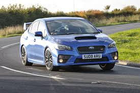 blue subaru wrx subaru wrx sti 2016 long term test review by car magazine