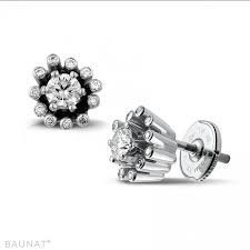 diamond earrings design platinum diamond earrings 0 50 carat diamond design baunat