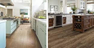 can vinyl plank look as as hardwood or tile