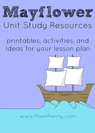 mayflower unit study resources meet penny