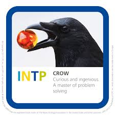 martini table with bird intp crow bird mbti type table so true pinterest intp