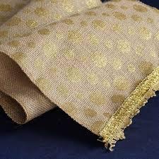 gold polka dot table cover polka dots natural burlap jute table runner 12 x 108 gold