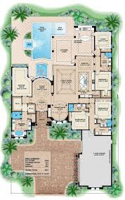 Floor Plans For Mansions Mediterranean Mansion House Plan Exceptional Plans Luxury Modern