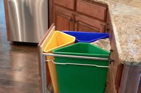 kitchen wooden trash cans amazing kitchen garbage can storage