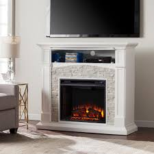 Decorative Fireplace Southern Enterprises Conway 45 75 In W Electric Media Fireplace