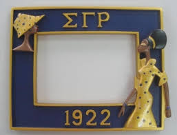 sorority picture frame sigma gamma rho sorority frame