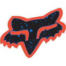 fox motocross stickers fox splatter 4 inch sticker fox racing canada
