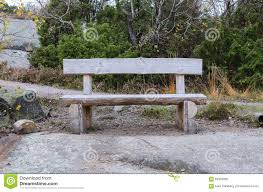 old bench made of rustic wood stock photo image 64992930
