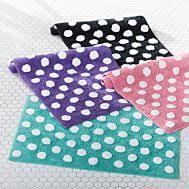 Black Polka Dot Rug Black Rug White Polka Dots Polka Dots Dalmatian Spots Terran