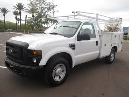 Ford F250 Truck Used - used 2008 ford f250 service utility truck for sale in az 2163