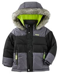 heavyweight bubble jacket oshkosh