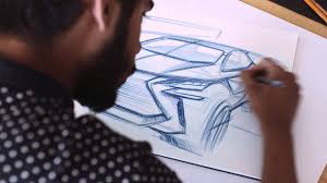 how to draw a car designing the lexus lf sa youtube