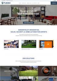 fuzion home services premier website design company bakersfield ca