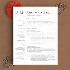 Resume Templates For Pages 26 Best Creative Resume Templates Images On Pinterest Resume