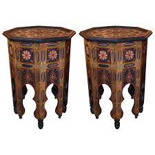 viyet designer furniture tables vintage moroccan octagonal