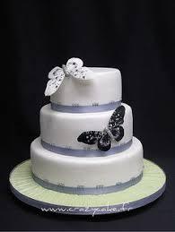 wedding cake jogja order blue butterfly wedding cake 3 tiers from mba ruri jogja