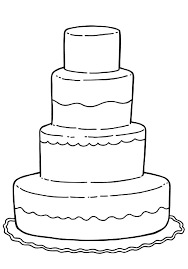 birthday cake coloring pages for kids coloringstar