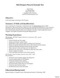 programming resume exles web developer resume exles and tips template 19a templates entry