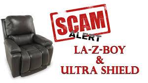 Sofas Center La Z Boyclining by La Z Boy Ultra Shield Warranty Scam Beware Youtube