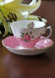 roses teacups royal albert new country roses cheeky pink vintage teacup and