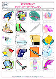bathroom free esl efl worksheets made by teachers for teachers