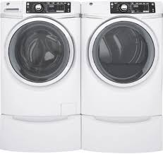 ge gfw480sskww 28 inch front load washer with 4 9 cu ft capacity