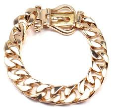 buckle bracelet gold images Hermes gold curb link chain large buckle bracelet at 1stdibs JPG