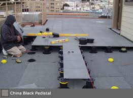 interlocking deck tile systems for patios and balconies