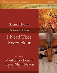 i need thee every hour viola marshall mcdonald