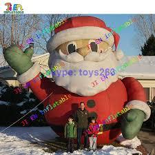 Outdoor Inflatables Free Shipping Santa Claus Big Air Santa