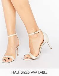 wedding shoes asos bild 1 asos heyday sandalen mit absatz wedding
