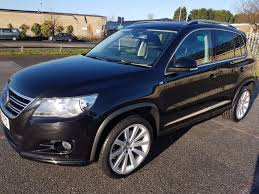 Used 2010 Volkswagen Tiguan R Line Tdi 4motion Full Black Leather