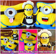 diy crochet minion projects free pattern
