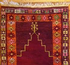 antique 4 x 3 turkish prayer rug oriental hand knotted wool