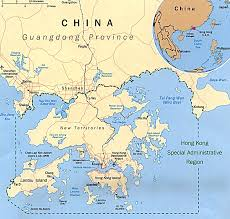 Eastern Asia Map Hong Kong On East Asia Map Hong Kong Map Asia Hong Kong On