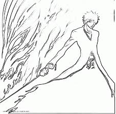 bleach coloring pages 3 gif coloring home