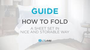 How To Fold A Fitted Bed Sheet How To Fold Fitted Sheet How To Fold A Bed Sheet Set In Nice And