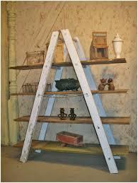 ladder shelf diy step ladder shelving unit wooden shelf ladder