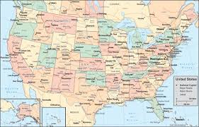 united states map vector states vector map