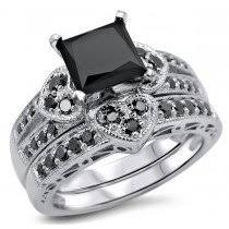 Black Diamond Wedding Ring by Buy Black Diamond Engagement Rings Online Shop Now And Save