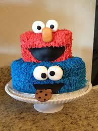 Elmo And Cookie Monster Birthday Cake Occasions Kids Birthdays