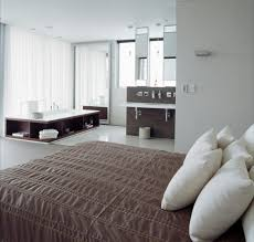 Installing Ensuite In Bedroom Open Living Spaces That Blur The Line Between Bedroom And Bathroom