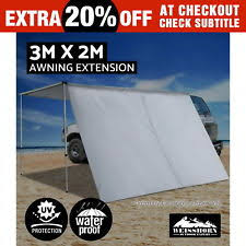 Oztrail Awning Review 3m Wide X 2 1m Rv Shade Awning Oztrail 4wd Camping Roof Rack Bar