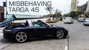 Porsche 911 Diesel - misbehaving porsche 911 targa 4s youtube