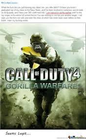Gorilla Warfare Meme - banana warfare by recyclebin meme center