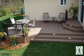 Backyard Decks Ideas Creative Of Backyard Small Deck Ideas Small Deck And Cover