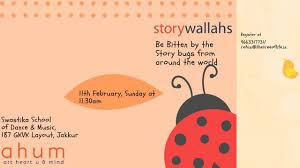 Stories From Around The World Stories From Around The World By Storywallahs Jakkur Bangalore